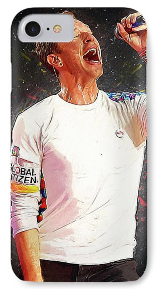 Chris Martin - Coldplay IPhone 7 Case