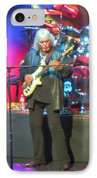 Chris Squire Yes IPhone Case by Donna Wilson