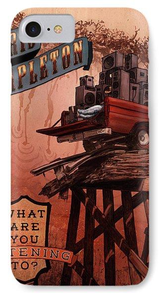 Chris Stapleton Poster IPhone Case by Ethan Harris