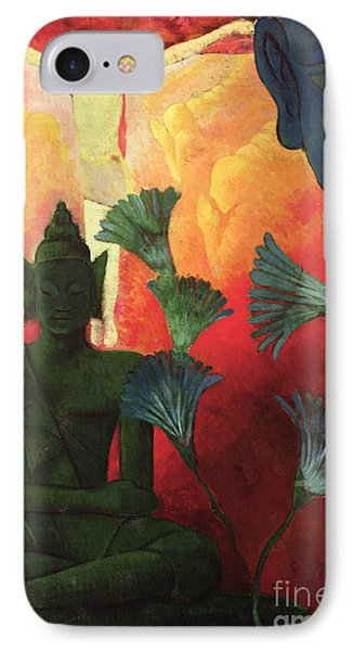 Christ And Buddha IPhone Case