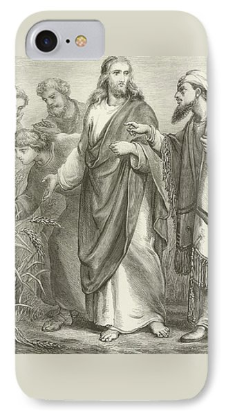 Christ And His Disciples In The Cornfields IPhone Case