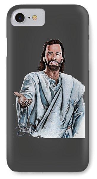 Christ Phone Case by Bill Richards