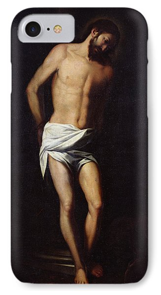Christ Bound To The Column IPhone Case by Alonso Cano