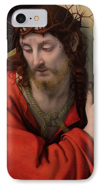 Christ Carrying The Cross IPhone Case by Andrea Solario