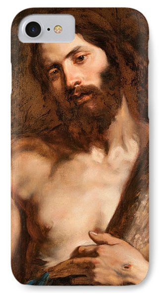 Christ Carrying The Cross IPhone Case by Anthony van Dyck