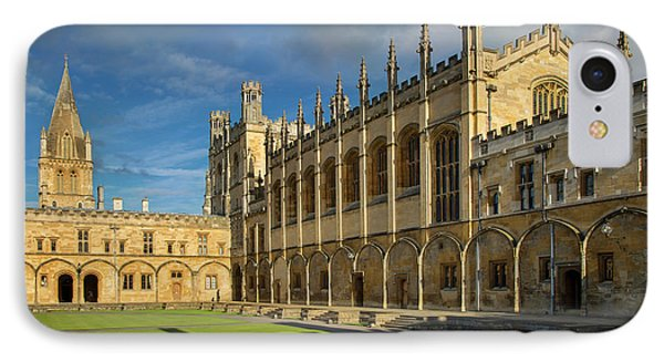 IPhone Case featuring the photograph Christ Church College II by Brian Jannsen