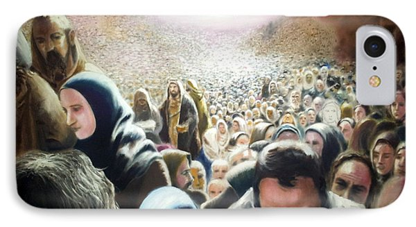 Christ Feeds The Five Thousand IPhone Case