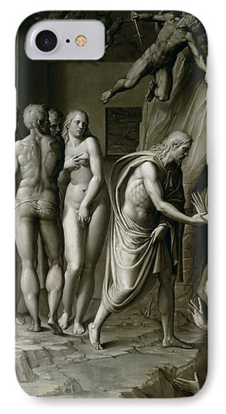 Christ In Limbo IPhone Case by Italian School