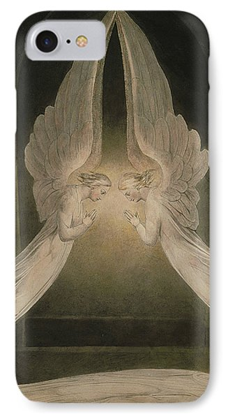 Christ In The Sepulchre, Guarded By Angels IPhone Case
