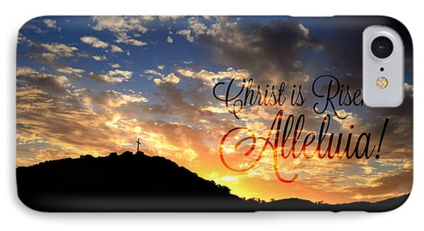 Christ Is Risen IPhone Case by Sharon Soberon