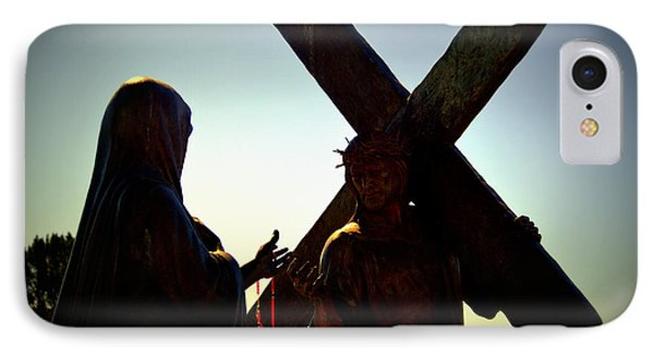 Christ Meets His Mother IPhone Case