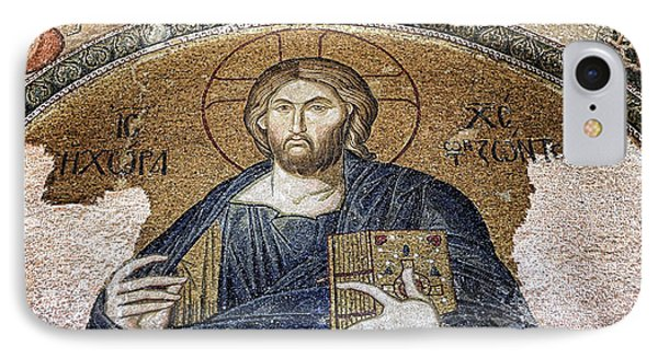 Christ Pantocrator -- Chora IPhone Case by Stephen Stookey