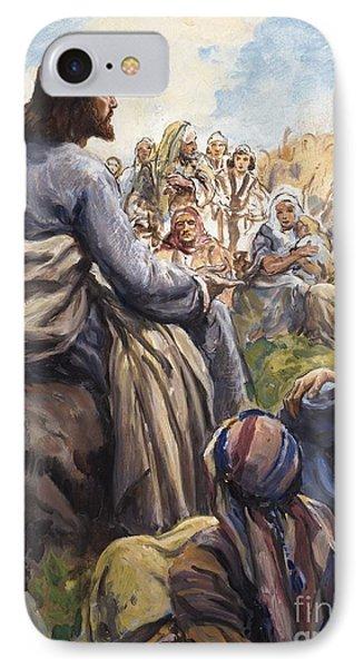 Christ Teaching IPhone Case