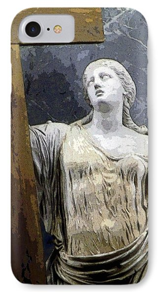 Christain Martyr Phone Case by Mindy Newman