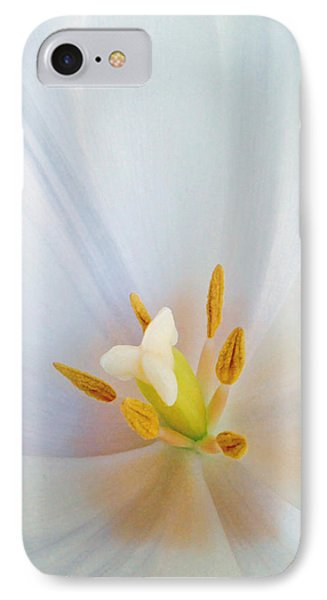 IPhone Case featuring the photograph Christened Tulip by Gwyn Newcombe