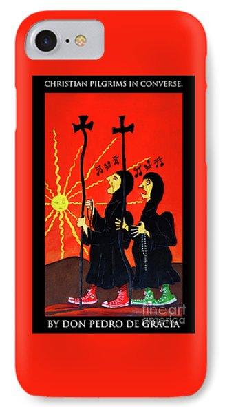 Christian Pilgrims In Converse IPhone Case