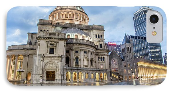IPhone Case featuring the photograph Christian Science Center In Boston by Peter Ciro