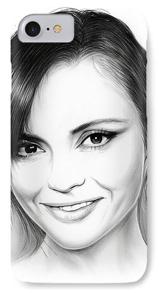 Christina Ricci IPhone Case