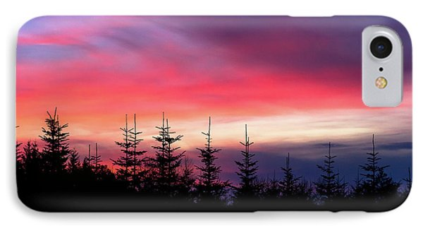 Christmas 2016 Sunset IPhone Case by Tyra OBryant
