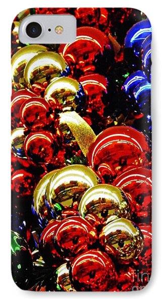 Christmas Abstract 14 IPhone Case by Sarah Loft