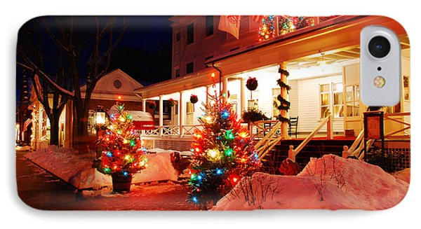 Christmas At The Red Lion Inn IPhone Case