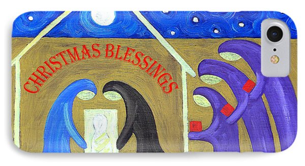 Christmas Blessings 2 Phone Case by Patrick J Murphy