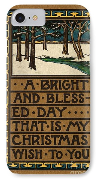 Christmas Card Phone Case by American School