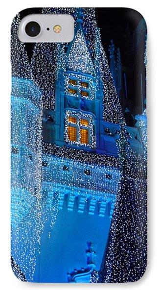 Christmas Castle IPhone Case