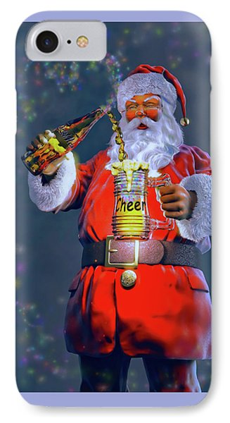 Christmas Cheer Iv IPhone Case by Dave Luebbert