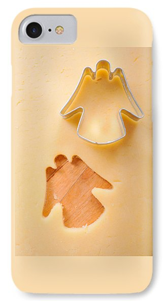 Christmas Cookie Angel Shape IPhone Case by Matthias Hauser