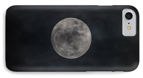 Christmas Eve Full Moon 2015 IPhone Case