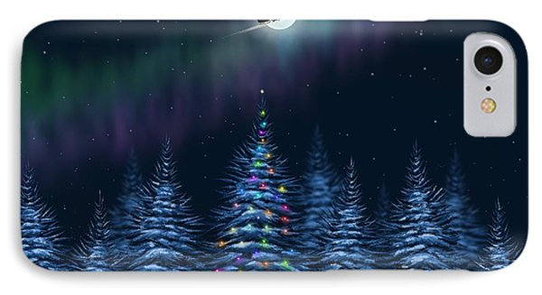 Christmas Eve IPhone Case by Veronica Minozzi