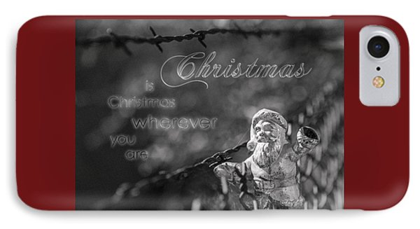 Christmas Everywhere IPhone Case by Caitlyn Grasso