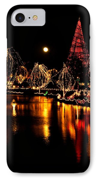 Christmas Glow IPhone Case by Lana Trussell