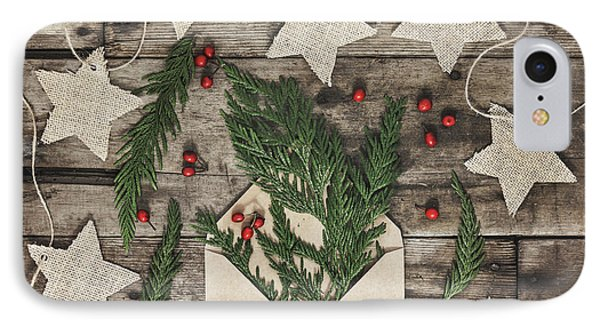 IPhone Case featuring the photograph Christmas Greens by Kim Hojnacki