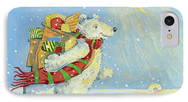 Christmas Homecoming IPhone Case by David Cooke
