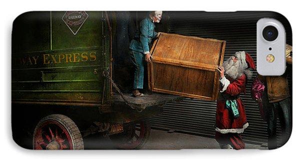 Christmas - How Santa Ruined Christmas 1924 IPhone Case