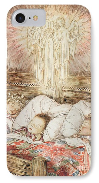 Christmas Illustrations From The Night Before Christmas Phone Case by Arthur Rackham