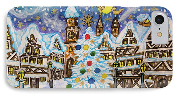 Christmas In Europe IPhone Case