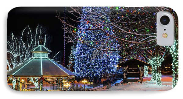 IPhone Case featuring the photograph Christmas In Leavenworth by Dan Mihai