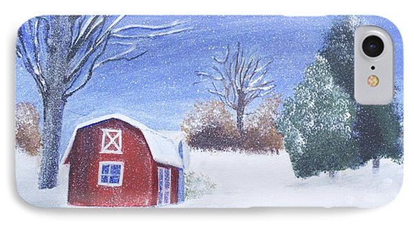 Christmas In Santa Armand IPhone Case
