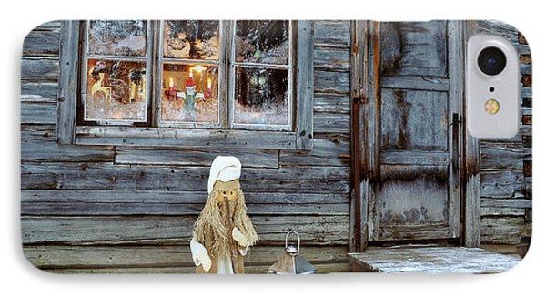 christmas in Scandinavia IPhone Case by Tamara Sushko
