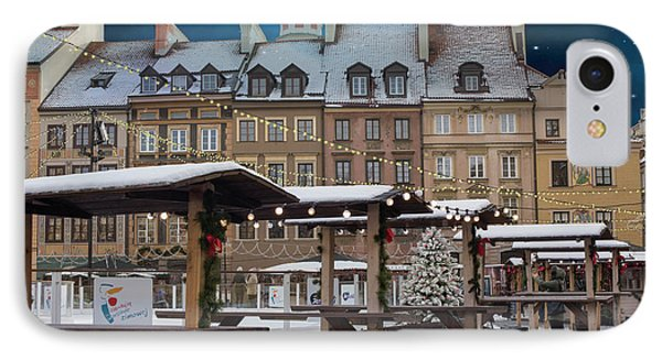 IPhone Case featuring the photograph Christmas In Warsaw by Juli Scalzi