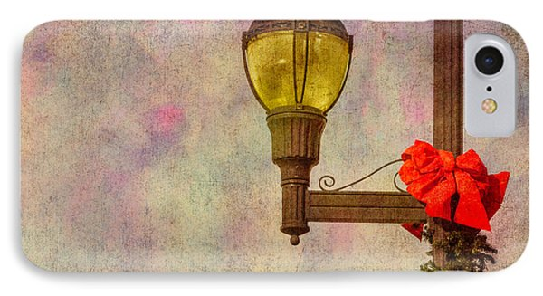 Christmas Lamp Post Phone Case by Phillip Burrow