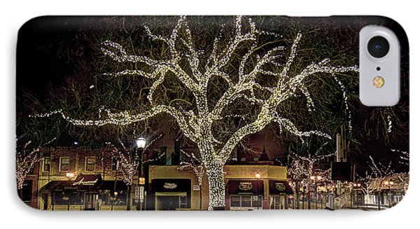 Christmas Lights IPhone Case by Alan Toepfer