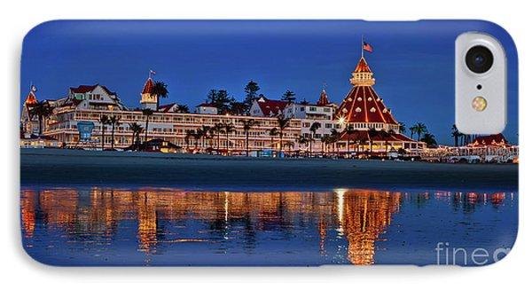 Christmas Lights At The Hotel Del Coronado IPhone Case