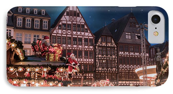 IPhone Case featuring the photograph Christmas Market by Juli Scalzi