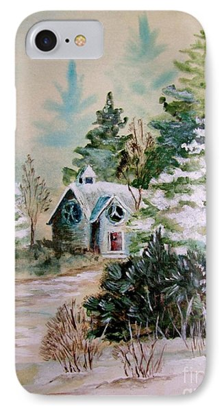 Christmas Morn Phone Case by Marilyn Smith