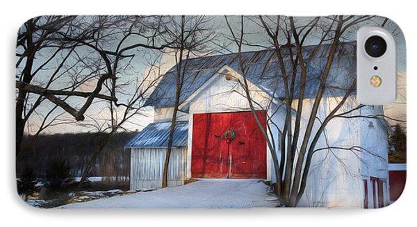 Christmas Morning IPhone Case by Lori Deiter