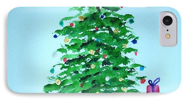 Christmas Morning IPhone Case by Mary Kay Holladay
